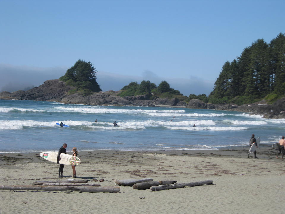 Memories of summer- Surfing in Tofino BC - Courtesy of  Sandra Gibbons